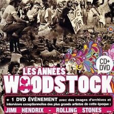 27668// LES ANNEES WOODSTOCK CD + DVD NEUF