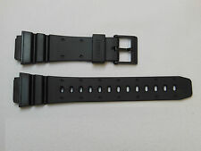 Replacement 18mm Silicon Rubber Casio G-Shock Sport Strap Watch Band