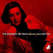 Legendary Lee Wiley: Collectors' Items 1931-55 (CD, 1998) ACCEPTABLE / FREE S&H