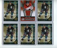 COREY PERRY 05-06 UD POWER PLAY SP ROOKIE LOT x5 + 12-13 SPGU TEAM CANADA JERSEY
