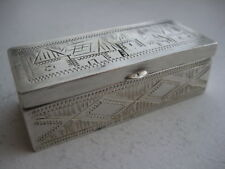 Judaica Russia Silver Spice Container St Petersburg1875