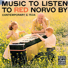 Music to Listen to Red Norvo By (1999 Original Jazz Classics CD) NEW / FREE S&H
