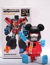 Transformers Starscream 200% Bearbrick 30 Years Special Edition Be@rbrick
