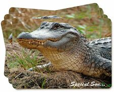 Crocodile 'Special Son' Picture Placemats in Gift Box, SS-CR1P