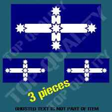 EUREKA STOCKADE FLAG DECAL STICKER HARD HAT BIKE CAR VEHICLE HELMET STICKERS