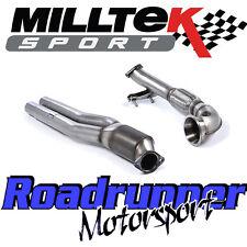 MILLTEK AUDI RS3 8v principale di scarico Hi-Flow Sport Cat & Turbo a Gomito SSXAU587