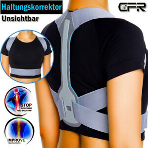 Schultergurt Rückengürtel Rückenbandage Haltungskorrektur Geradehalter Zurück AM