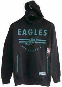 Philadelphia Eagles NFL Apparel Hooded Sweatshirt NWT Men's M Black/Green