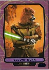 2013 Topps Star Wars Galactic Files Series 2 Blue Foil #559 Voolvif Monn /350