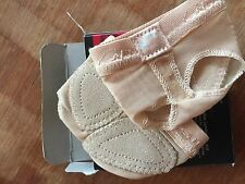 Capezio Nude FootUndeez Lyrical Shoe Adult Size Medium 8-9
