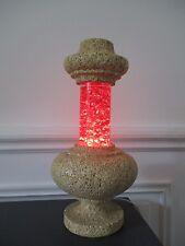 RARE LAMPE A PAILLETTES SEVENTIES ATTRIBUEE A ALBERT  TORMOS