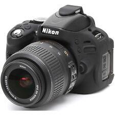 easyCover Nikon D5100 Silicone Camera Case Black EA-ECND5100B FREE US SHIPPING