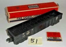 VINTAGE LIONEL O SCALE NEW YORK CENTRAL SYSTEM NYC 6462 BLACK HOPPER 51