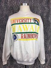 Logo 7 University Of Hawaii Rainbow Vintage Crewneck Sweater - Men's Large