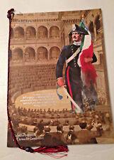 Calendario Storico dell'Arma dei Carabinieri anno 2012