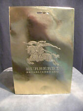 """Authentic Burberry Gift Shopping Bag Gold Medium Size 11.75"""" x 8"""" x 4.5"""""""
