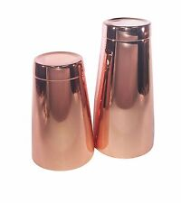 Copper Pro Boston Cocktail Shaker 28oz stagno e rame 18oz TIN SET BARTENDER