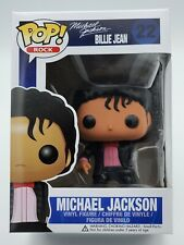 Funko Pop! Rock #22 Michael Jackson (Billie Jean) Vaulted Authentic W/ Protector