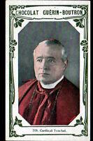 IMAGE CHOCOLAT GUERIN BOUTRON / Cardinal TOUCHET Evéque d'ORLEANS né à SOHIERS