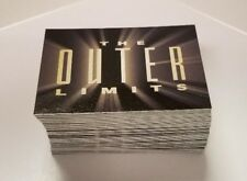 The Outer Limits Sex Cyborgs & Science Fiction Complete 81 Card Base Set