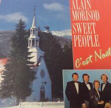 ALAIN MORISOD & SWEET PEOPLE Tape Cassette C'EST NOEL Kosmos Canada KOSX5-210