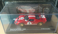 "DIE CAST "" FORD GT40 MKII - 1966 "" 24 HEURES DU MANS SCALA 1/43"