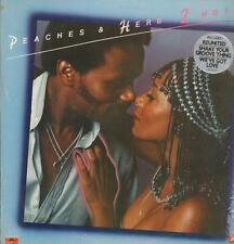 Peaches & Herb(Vinyl LP)2 Hot-Polydor-PD-1-6172-US-Ex/Ex