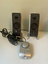 Logitech Z3 Computer Speakers with Wired Remote