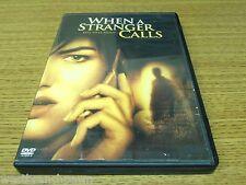 When a Stranger Calls (DVD, 2006) with insert