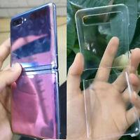 Clear Flip Case Funda Pprotectora Caja Cover Cubierta para Samsung Galaxy Z Flip