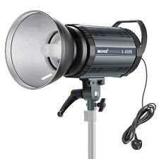 Neewer 400W Modeling Lamp Photo Studio Flash Strobe Light Moonlight
