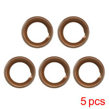 5* Copper Oil Drain Plugs Crush Washers Gaskets 1102601M02 For Nissan Infiniti F
