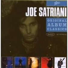 "JOE SATRIANI ""ORIGINAL ALBUM CLASSICS"" 5 CD BOX NEW+"