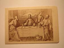 Palma Vecchio - La Cena in Emaus - Pitti - Firenze  Florenz / CDV Giacomo Brogi