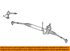 CHRYSLER OEM-Rack And Pinion Complete Unit 68093008AC