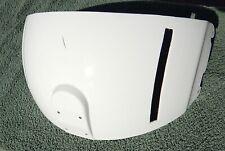 Pilots  Helicopter Helmet White  Pilot Dual Visor Cover