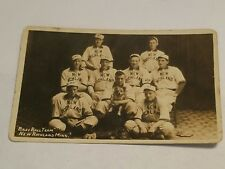 VINTAGE RPPC BASEBALL TEAM POSTCARD NEW RICHLAND MINNESOTA (1910-1915)