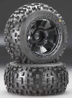 """4 Pro-Line 1178-11 3.8"""" Mounted Badlands Tires w/ Desperado Wheels  Revo T-Maxx"""