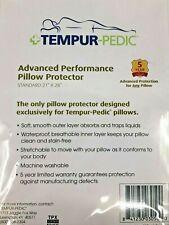 "Tempurpedic Advanced Performance Pillow Protector Standard 21"" X 28"" NIP [19]"