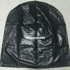 """Brinkmann Black Vinyl Cover for Round Smoker 32"""" wide at base x 33"""" tall NEW NIP"""