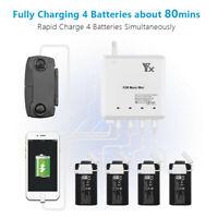 UK/EU/US/AU Plug Multi RC Battery Charging Hub for DJI Mavic Mini Drone Quality