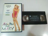 ALGO PASA CON MARY Cameron Diaz Ben Stiller - VHS Cinta Tape Español