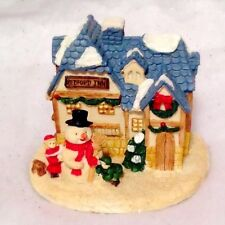 Crystal Falls Village Collectibles Bedford Inn Christmas Village House Cottage