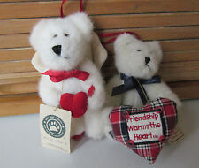 Boyds Plush Ornaments-Two Friends