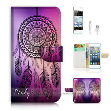( For iPod 5 / itouch 5 ) Flip Case Cover! Dream Catcher P0420