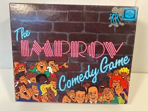 Vintage The Improv Comedy Game by TDC Games 1989 Complete