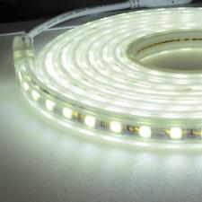 1m-30m LED Strip Streifen Lichterkette wasserdicht Aussen An / Aus dimmer 230V