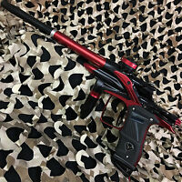 NEW Dangerous Power Fusion Elite Electronic Paintball Gun Marker - Black/Red