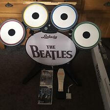 The Beatles Rock Band Drum Kit Drums Wii