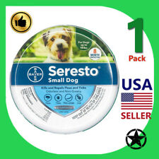 1 Pack Seresto Small Dog Flea & Tick 8 Month Prevention Up to 18 lbs